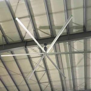 China 5.5m Large Diameter Ceiling Fans , Fresh Air Electric Big Commercial Ceiling Fans on sale