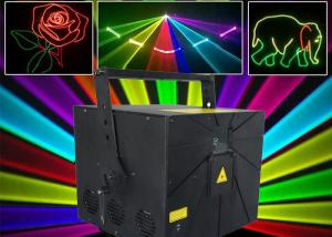 China DMX 512 RGB Powerful Green Laser Sound Activated 90VAC - 250VAC / 300VA on sale