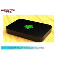 Multi Language Android HD Media Player , Black TV Media Player Box