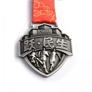 China Delicate Custom Running Medals , Creative Marathon Running Race Medals on sale