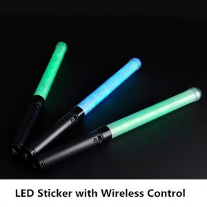 China Concert Cheering LED Glow Sticks , Personalized Light Up Foam Sticks on sale