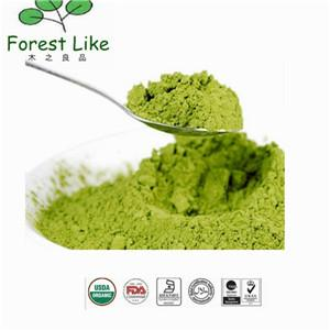 China No Additive Direct Drink Cosmetic Green Tea Powder on sale