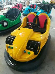 China Hansel outdoor playground  kids led amusement bumper car with battery on sale