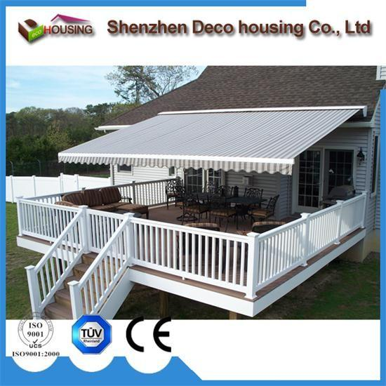 Super Quality Patio Arm Retractable Awning/Motorized Full Cassette Awning  Images
