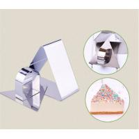 Mousse Cake Ring Stainless Steel Triangle Ring Mold Cut Biscuits Cake Bakeware Mold