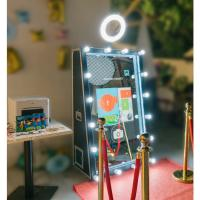 Wholesale wedding rental photobooth machine magic mirror photo booth