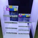 wholesale acrylic cell phone accessories display rack for sale