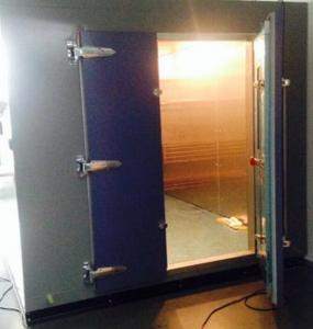 China Durable Storage Modular 130Pa, 50 To + 250°C Walk In Environmental Chamber With Insulated Warehouse Board on sale
