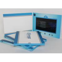 China CMYK Printing Lcd Video Business Card Video Brochure Card For Wedding / Advertising on sale