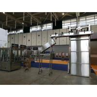Electric 50Hz 3 Phase Packing Production Line , Bottle Can Depalletizer Machine