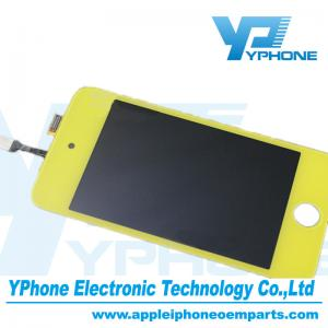 China Yellow 960×640 Pixel 3.5 Inches Cell Phone LCD Screen Replaceme For iPod Touch 4 Gen on sale