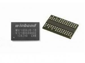 China Low Power  Flash Memory Ic Chip 64Mx16  BGA84 W971GG6JB-18  IC SDRAM  DDR2 on sale