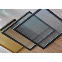 Tinted Tempered Double Glazed Insulated Glass / Hollow Glass For Curtain Wall
