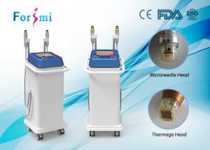 China Thermage RF micro needle skin tightening! 0~3mm adjustable pore removal machine on sale