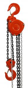 China 3 Ton Red Lever Chain Hoist Hand Operated Alloy Steel High Speed on sale