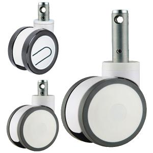 China central lock caster wheel,central locking caster wheels,medical bed caster wheels on sale