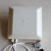 860~960MHz Portable Wiegand 26/34 RS485/232 5m 8dbi Antenna uhf rfid Reader
