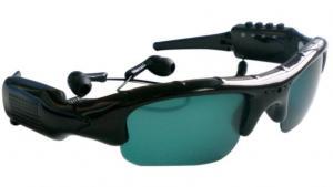 China Video Recording Sunglasses+MP3+Camera+Video Recorder+TF Card Slot on sale