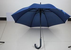 China 27 Inch 8k Mens Windproof Golf Umbrella With Strong Anti Rust Steel Auto Open Frame on sale