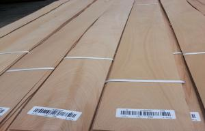 China Natural Crown Cut Steamed Beech Sliced Veneer C grade For Furniture on sale