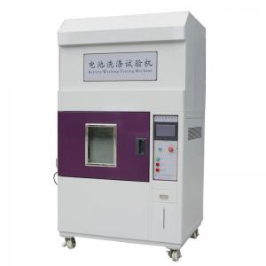 China IEC62133 Laptop Battery Testing Equipment , Lithium Battery Washing Test Machine on sale