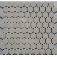 China Wood White Marble Mosaic,Beige Marble Mosaic,White Marble Mosaic ,White Marble Mosaic on sale