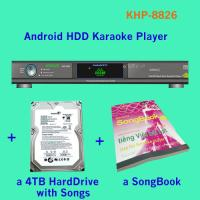 21440 Vietnamese HD songs include 4TB HDD All-in-one Android Lemon karaoke player Multilingual MENU