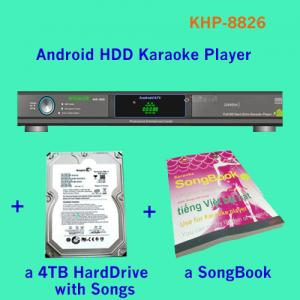 China 27850 Vietnamese&English songs include 4TB HDD Android Hard drive Lemon KTV karaoke product with HDMI 1080P on sale