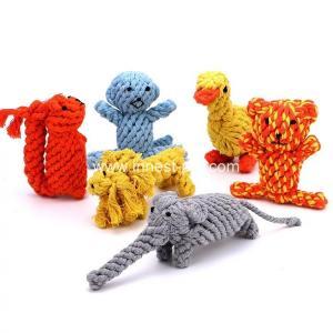 China wholesale China cotton rope dog toy animal on sale
