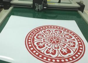 China Decal Sticker Digital Flatbed CNC System Cutting Plotter Machine on sale