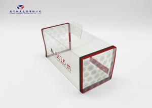 China 0.3mm Thickness Clear PVC Packaging Boxes Highly Durable For Packing Ski Glasses on sale