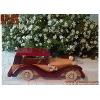 Promotional children play wooden toy  car hot sale diy wooden toy car ramp Walnut, Leather, Coak