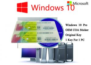 Quality Authentic Windows 10 Product Key 32bit/64bit Operating Systems COA X20 Full for sale