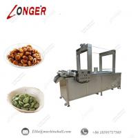 Broad Beans Continuous Frying Machine|Commercial Frying Machine|Automatic Broad Bean Fryer Equipment|Continuous Fryer