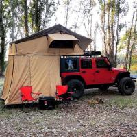 Customized Truck Pop Up Roof Top Tent Streamlined Design For Family