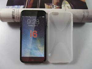 China X Line Transparent Clear TPU Gel Case for Iphone6 on sale