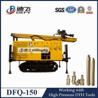 DFQ-150 pneumatic DTH borehole rock drilling machine rigs for water well