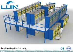 China Heavy Duty Rack Supported Mezzanine System Q235 Steel Material AS4084 Approval on sale