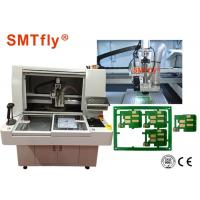 China High Cutting Accuracy PCB Depaneling Router Machine 320*320mm Panel Size on sale