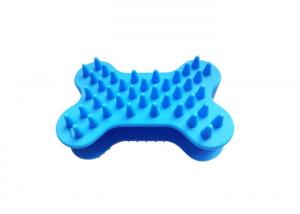 China Food Safety , Lastest Design , Silicone Dog Shedding Brush , Pet Comb on sale
