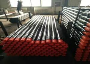 China ISO Water Drilling Pipe , Drill Extension Rod For Different Geological Conditions Rock Drill Rods on sale