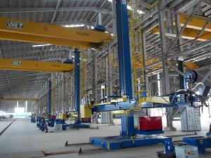 China 380V Wind Tower Production Line Welding Manipulator / Column and Boom on sale