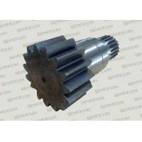 Komatsu PC200-7 Excavator Slewing Large Vertical Gear Shaft With Steel Material