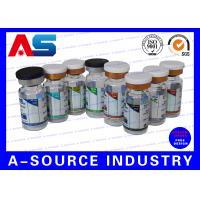 Blue Waterproof Label Printing Pharmaceutical Label Printing For Steroid Package