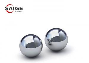China Polish Spherical 316L Stainless Steel Balls 7.5mm 9mm 17mm Good Toughness on sale