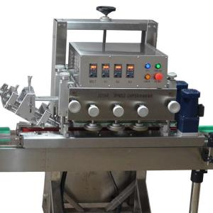 China Touch Screen Plastic Bottle Filling And Capping Machine PLC Control on sale