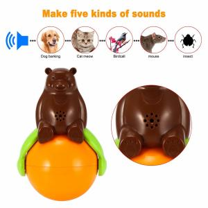 China Inventions Pet Tumbler Toy Sound And Light Ball five kinds of sounds on sale
