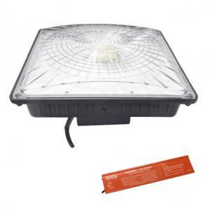 China Emergency Driver LED Parking Garage Lights 8000 Lumens 5000K UL DLC 120V No Flickering on sale