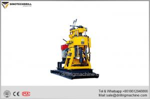 China Portable Water Well Drilling Rig For 180m Depth 220mm Diameter Hole Drilling on sale