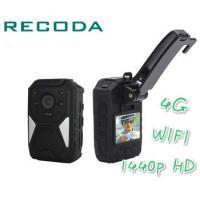 China Ambarella A12 4G Body Camera , 1440P Full HD Body Worn Camera on sale
